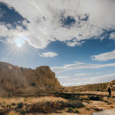 Soleil sur la falaise V2 par Colybri