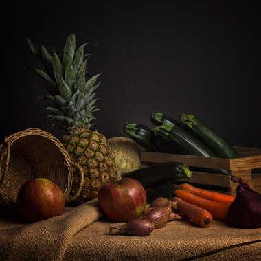Nature morte aux fruits et légumes par patrick69220