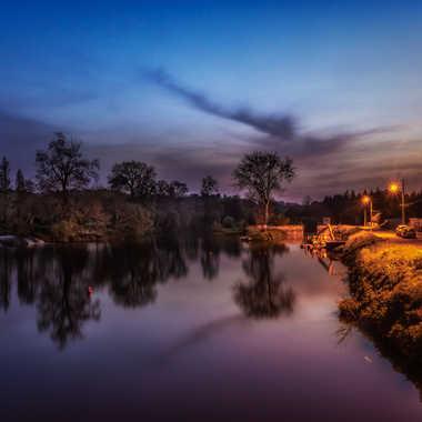Pont-Réan by night par Cirebac