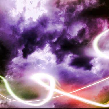ciel abstrait  par brj01