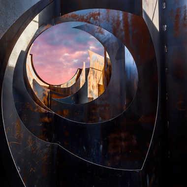 Labyrinthe d'acier par Mitch007