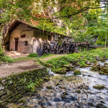 Le vieux moulin  par Stefano