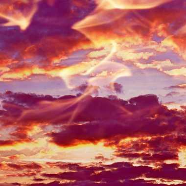 ciel de feu  par brj01