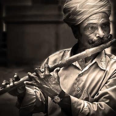 Flutiste du Rajasthan par henry_1017