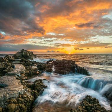 Couleurs matinale au Cap d'Antibes. par Franck06