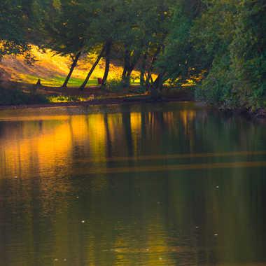 L'étang du château par Philipounien