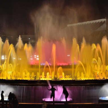 Fontaine magique par Barcelonero