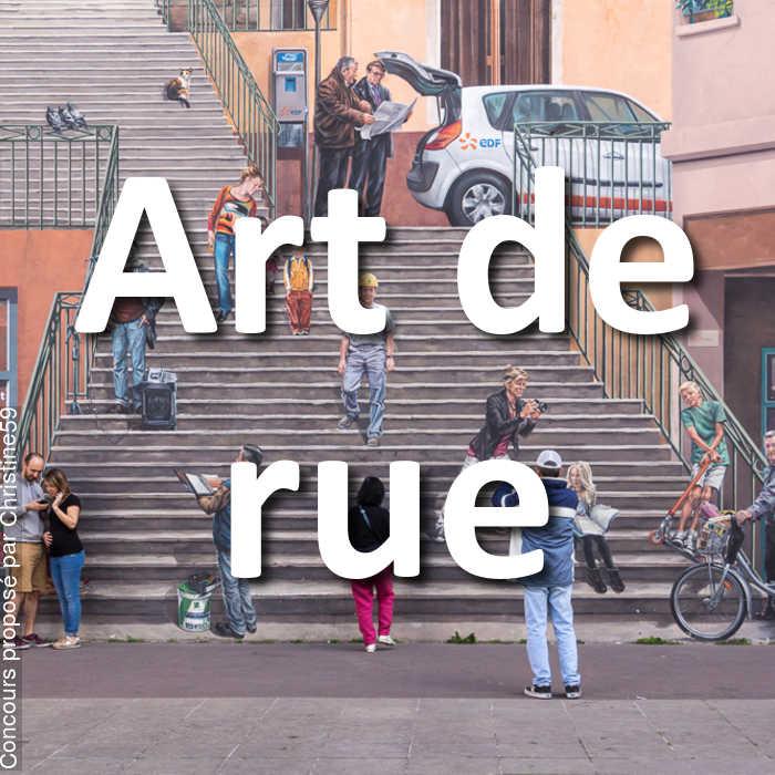 Concours Photo - Art de rue