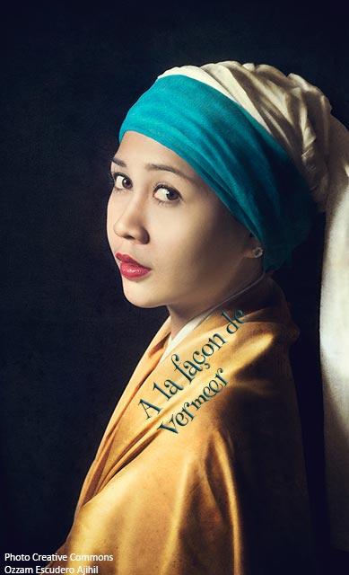 Concours Photo - A la façon de Vermeer