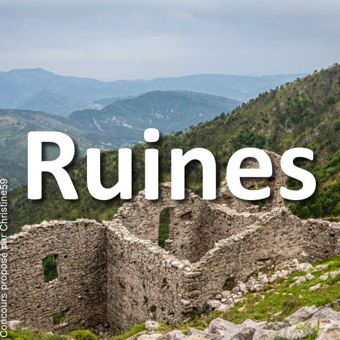 Concours Photo - Ruines