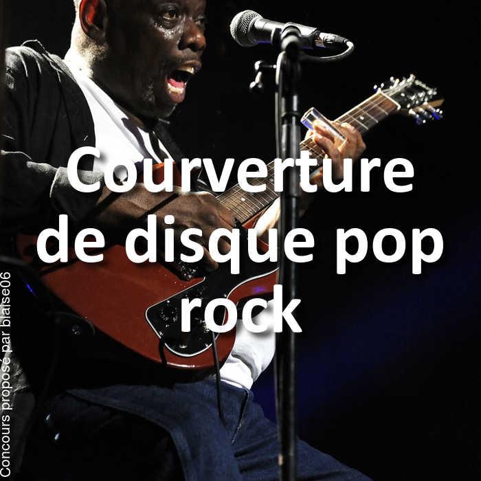 Concours Photo - Courverture de disque pop rock