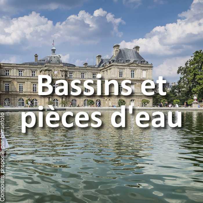 Concours Photo - Bassins et pièces d'eau