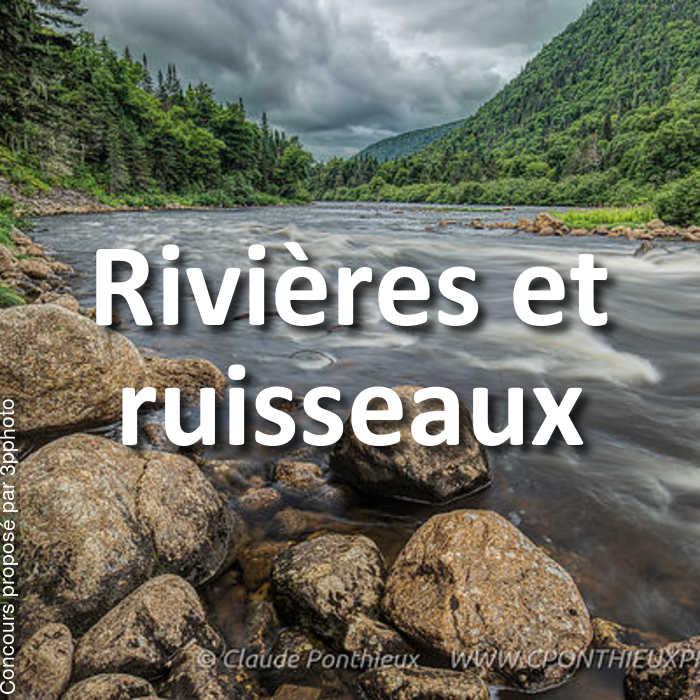 Concours Photo - Rivières et ruisseaux