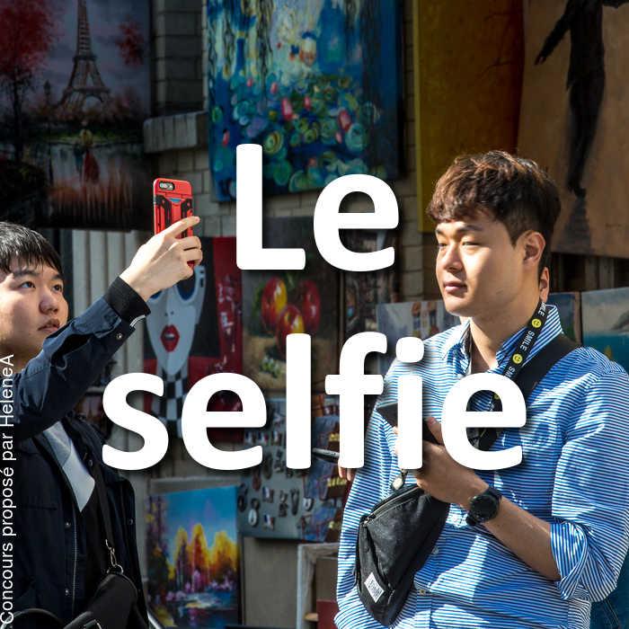 Concours Photo - Le selfie