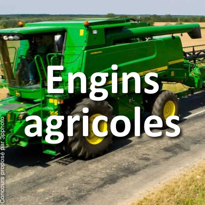 Concours Photo - Engins agricoles