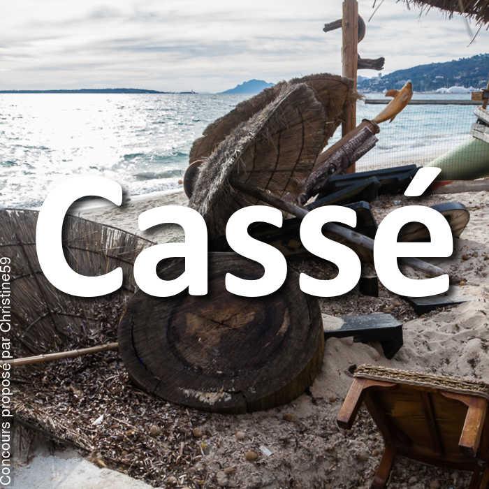Concours Photo - Cassé