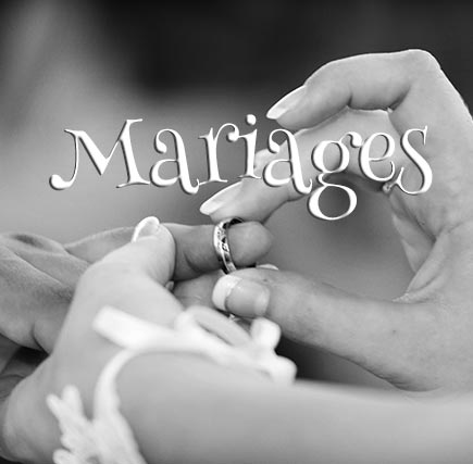 Concours Photo - Mariages