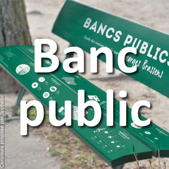 Concours Photo - Banc public