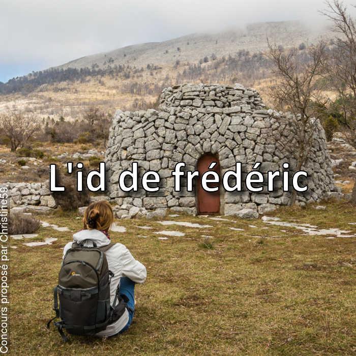Concours Photo - L'id de frédéric
