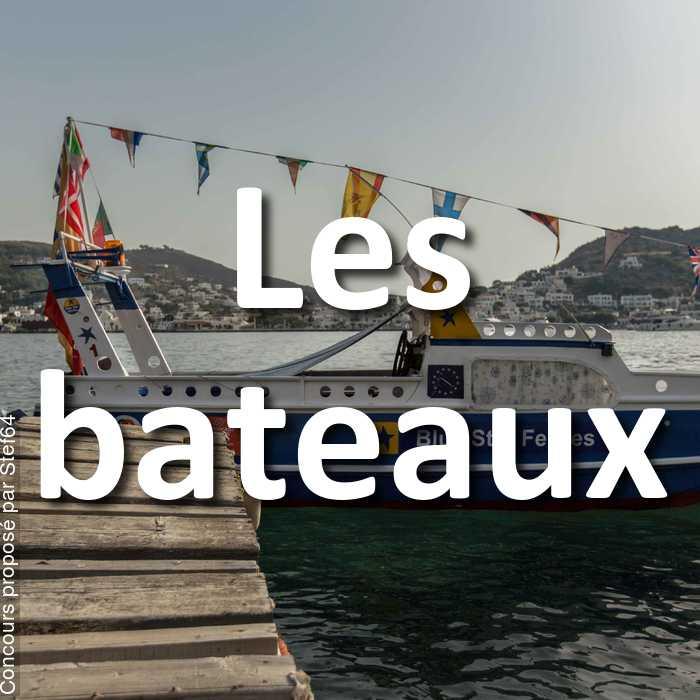 Concours Photo - Les bateaux