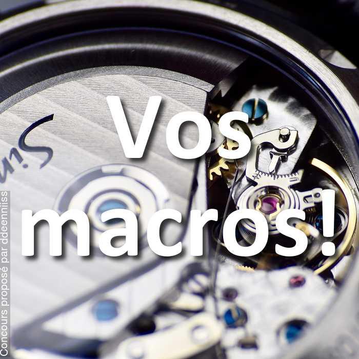 Concours Photo - Vos macros!
