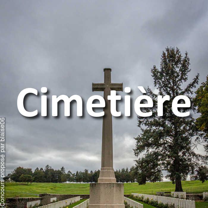 Concours Photo - Cimetière