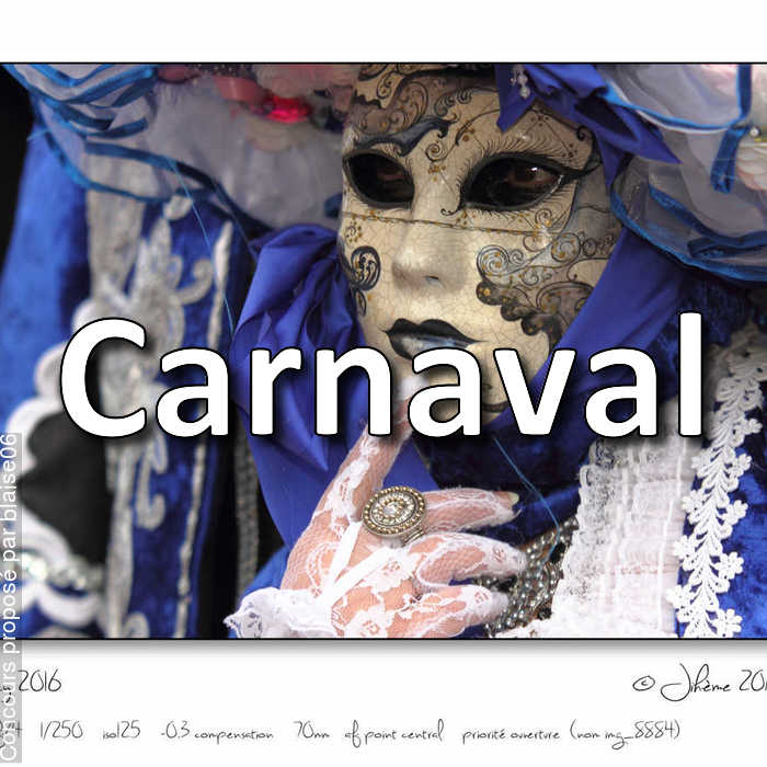 Concours Photo - Carnaval