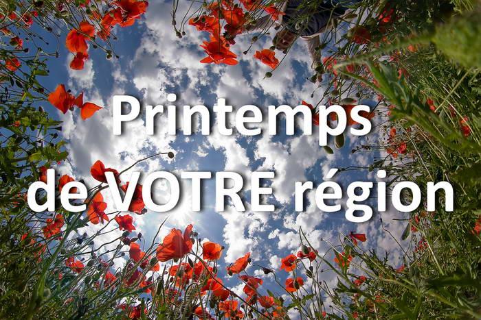 Concours Photo - Printemps de VOTRE région