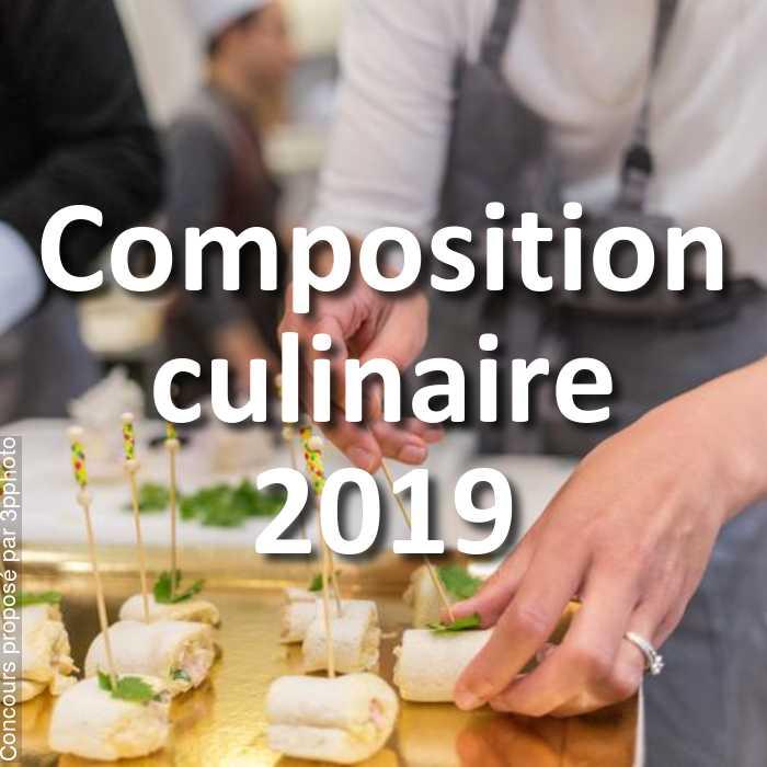Concours Photo - Composition culinaire 2019