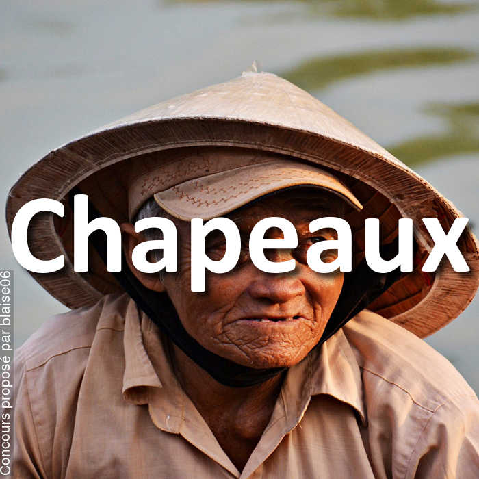 Concours Photo - Chapeaux