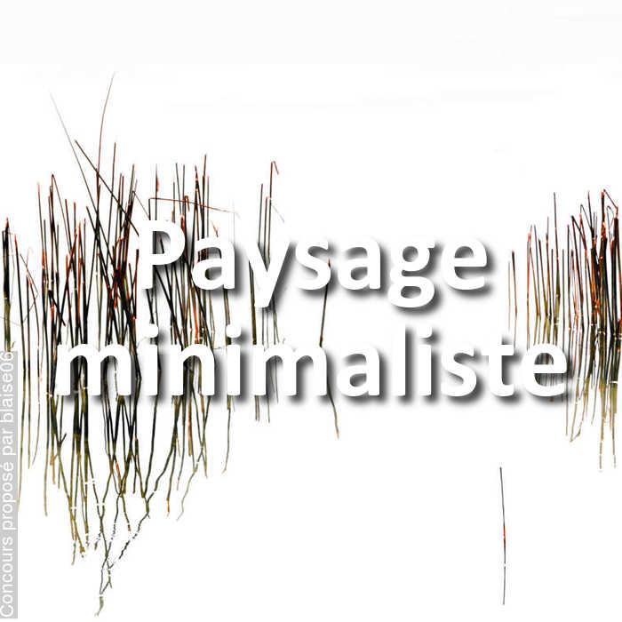Concours Photo - Paysage minimaliste