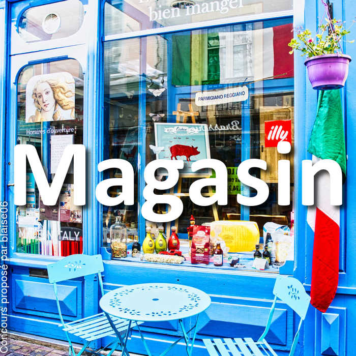Concours Photo - Magasin