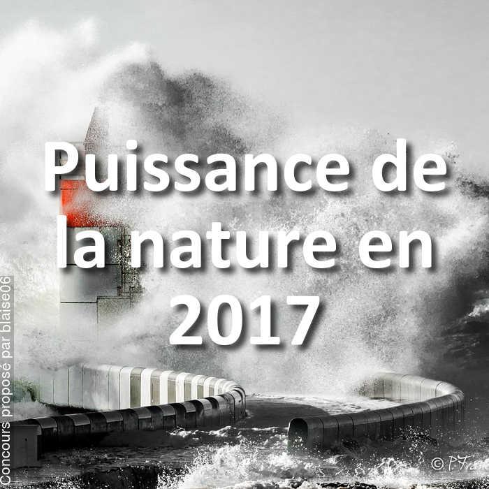 Concours Photo - Puissance de la nature en 2017