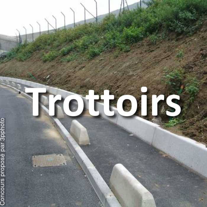 Concours Photo - Trottoirs