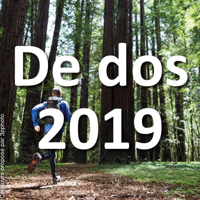 Concours Photo - De dos 2019