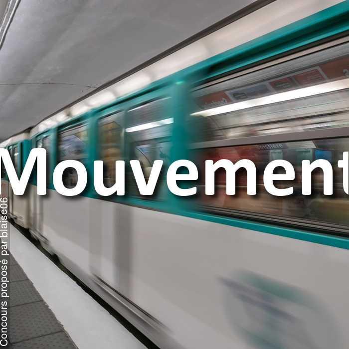 Concours Photo - Mouvement