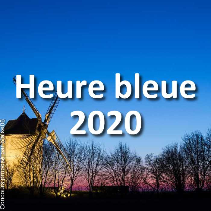 Concours Photo - Heure bleue 2020