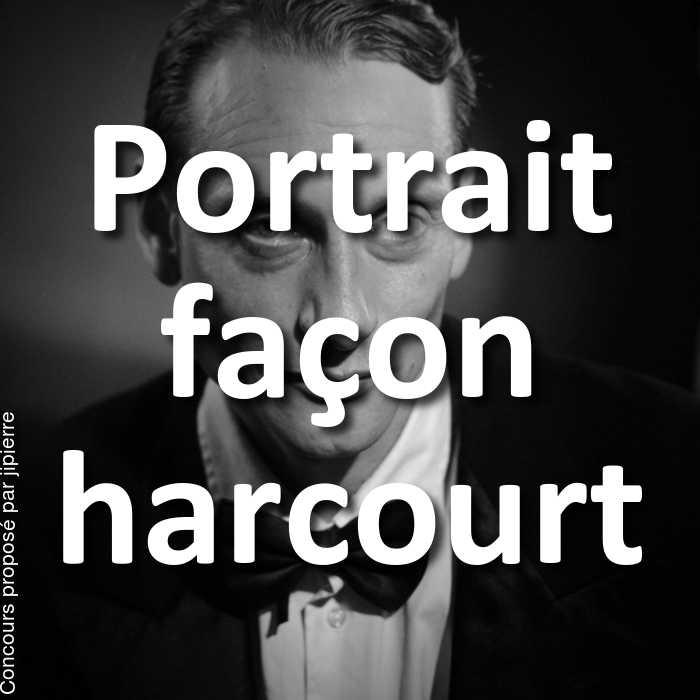 Concours Photo - Portrait façon harcourt