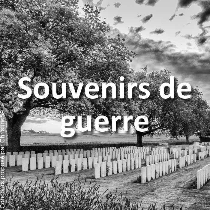 Concours Photo - Souvenirs de guerre