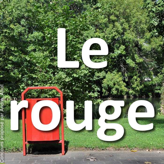 Concours Photo - Le rouge