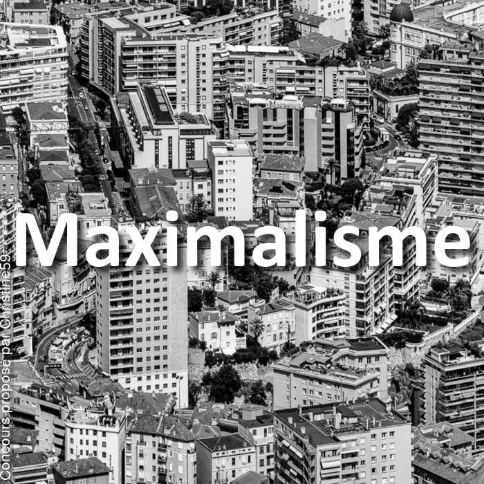 Concours Photo - Maximalisme