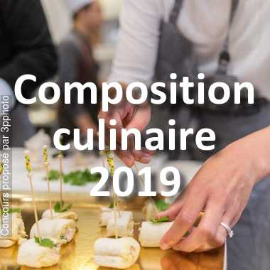 Composition culinaire 2019