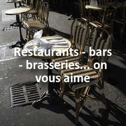 Concours Photo Restaurants - bars - brasseries... on vous aime